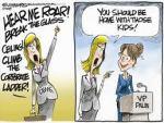 Feminist cartoon