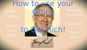 Harry Reid rich