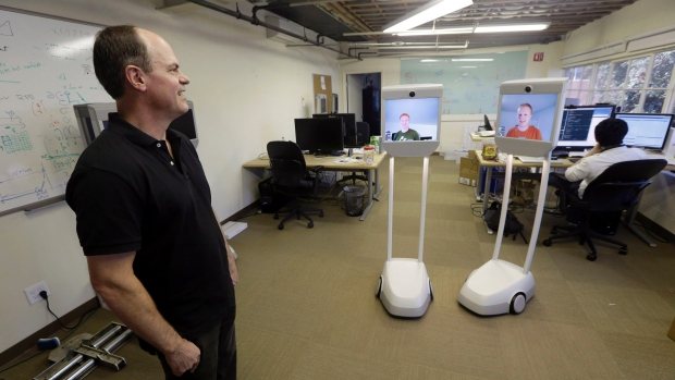Japanese work robots