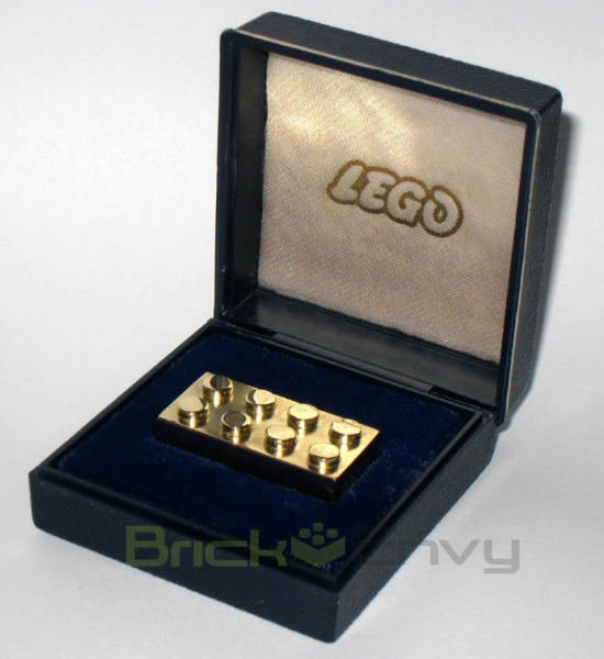 Lego gold bar