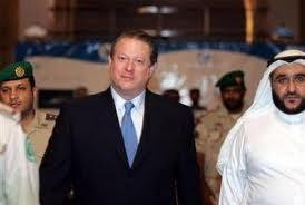 Al Gore with Saudi