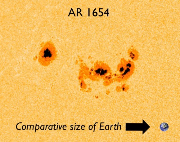 AR sunspot