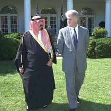 Bill Clinton and Saudi