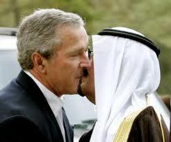 G W Bush and Saudi