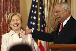 Hillary and Powell