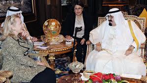 Hillary with Saudi
