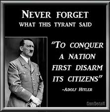 Hitler and guns