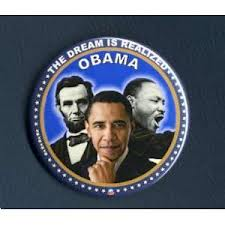 Obama button two
