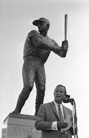 Stan Musial and statue