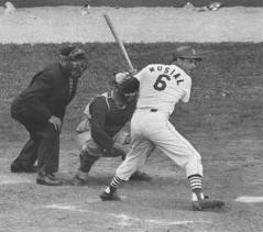 Stan Musial at bat