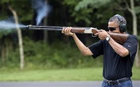 Obama and gun