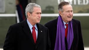 Bush Family four