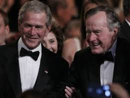 Bush Family two