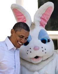 Easter Bunny and Obama