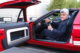 Jay Leno and car