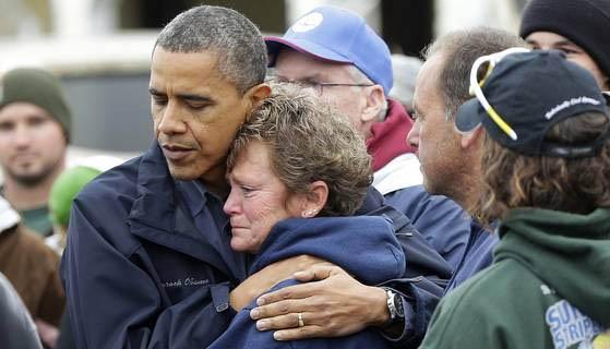 Obama and Sandy