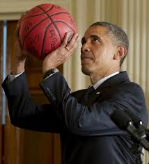 Obama basketball 2