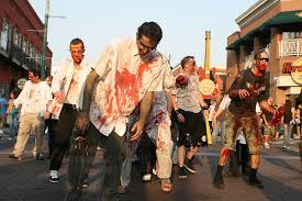 Zombies walking