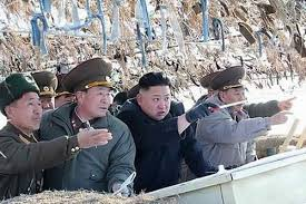 Kim Jung pointing