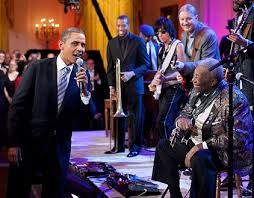 Obama at soul party