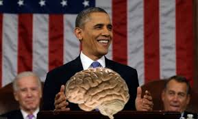 Obama and brain