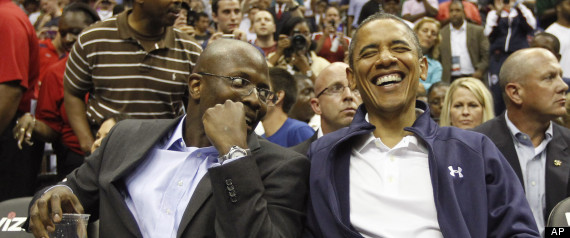 Barack Obama, Reggie Love