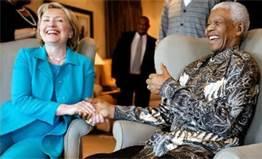 Hillary and Mandela