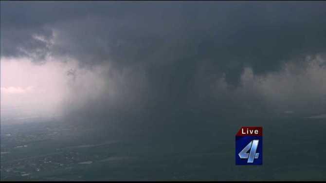 Tornado in OK
