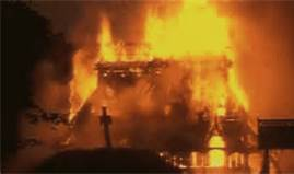 church burning
