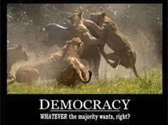 democracy...poster