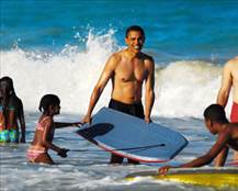 Obama vacation four