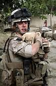Marine w dog