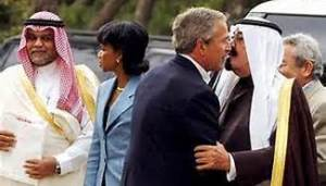 Saudi and Bush