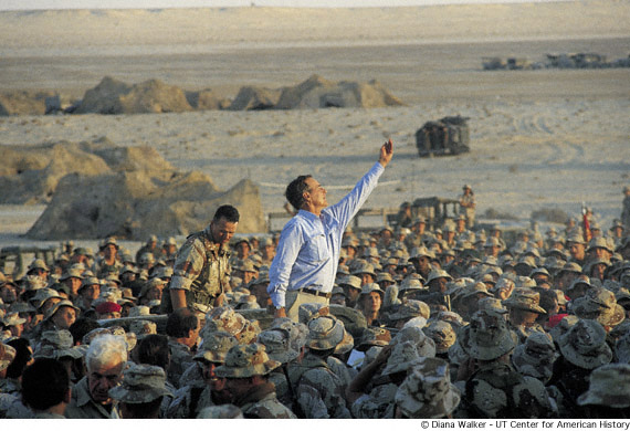 Bush in Iraq