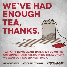 tea party message