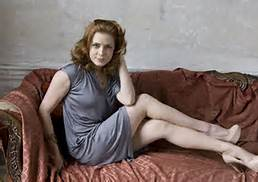 Amy Adams on couch