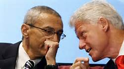 Bill Clinton & John Podesta