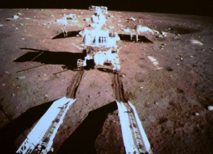 China Lands on the Moon