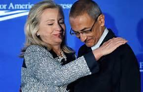 Hillary and John Podesta