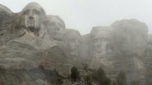 Mt Rushmore weeps