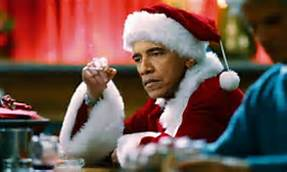 Obama as Santa Clause