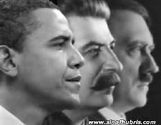 Obama, Stalin, Hilter