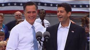 Paul Ryan & Mitt Romney