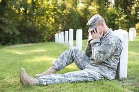 Veteran suffering