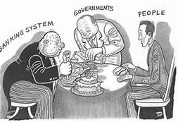 Banking cartoon