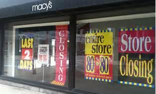 Macy's store closing