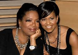 Oprah and Michelle
