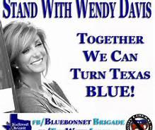 Wendy Davis blue