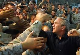 GW with troops