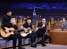 Jmmmy Fallon and bono